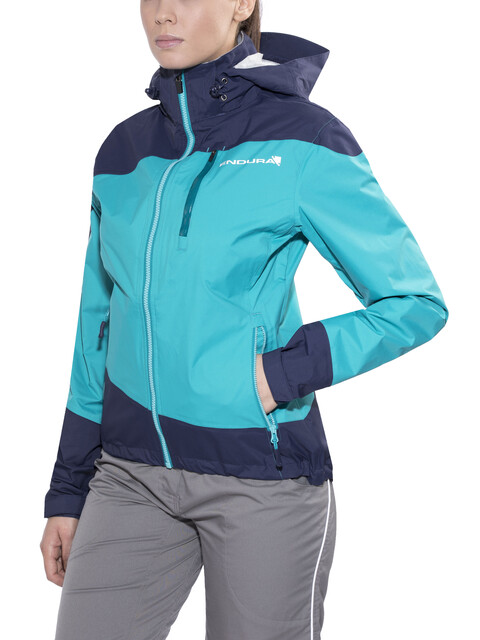 Endura SingleTrack Jacket Women blue/turquoise
